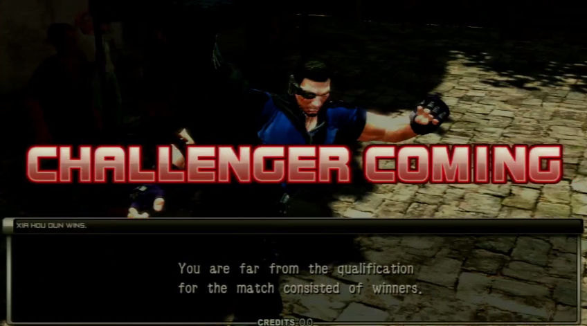 "CHALLENGER COMING! ""You are far from the qualification for the match consisted of winners."""